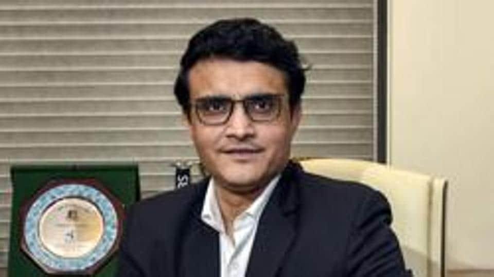 File image of BCCIPresident Sourav Ganguly.