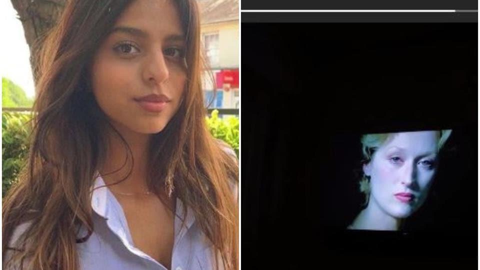 Shah Rukh Khan's daughter Suhana turns to Meryl Streep for comfort during lockdown