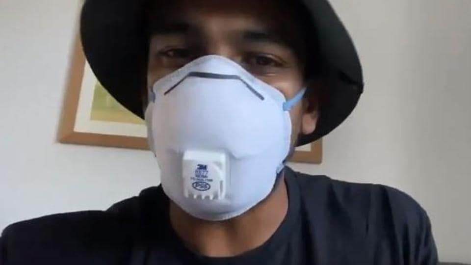 In times of coronavirus: New Zealand spinner Ish Sodhi performs song on Covid-19 thumbnail