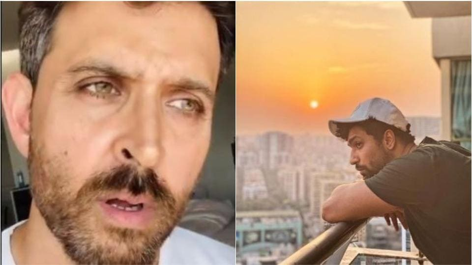 Hrithik Roshan and Vicky Kaushal have made social media posts on Covid-19.