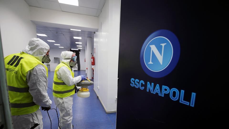 Italian clubs Napoli and Lazio have both postponed their planned return to training this week