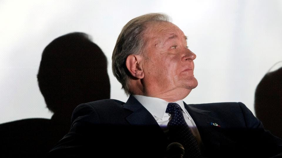 Albert Uderzo, artist of all 33 Asterix adventure series, attends a news conference in Paris, France October 8, 2009.
