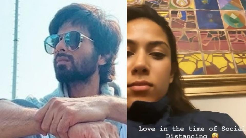 Shahid Kapoor and Mira Rajput are spending time with their kids in self-isolation at home.