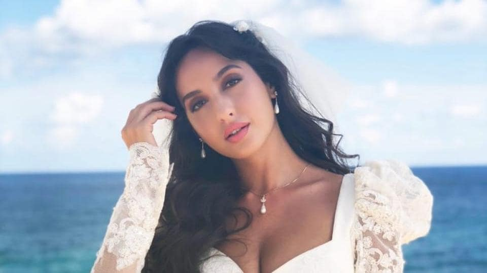 Nora Fatehi shared a throwback video from the sets of Bharat.