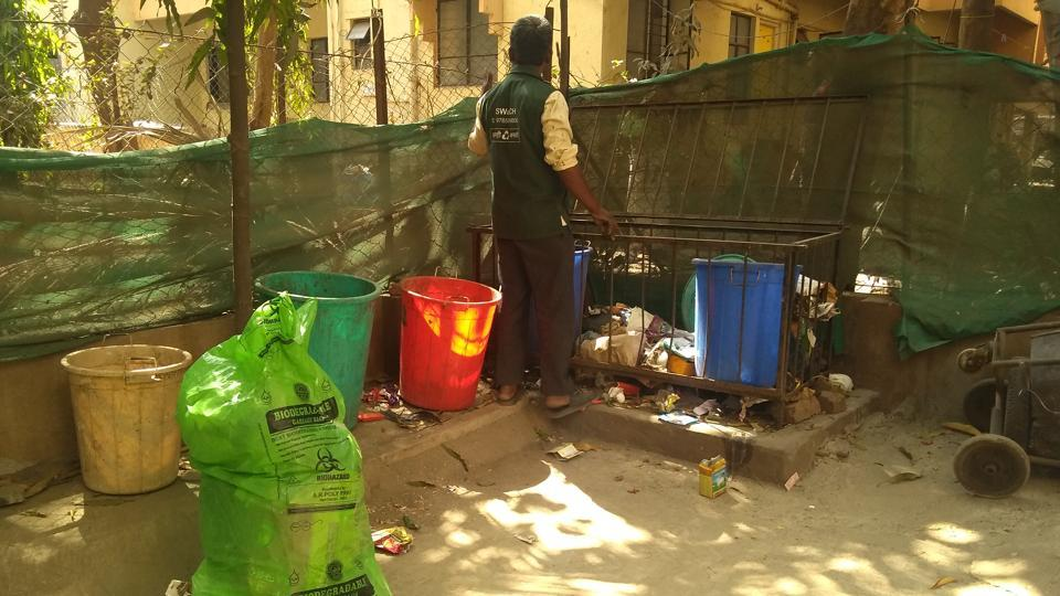 Waste pickers are working round the clock even as city is in the grip of Covid-19 outbreak.