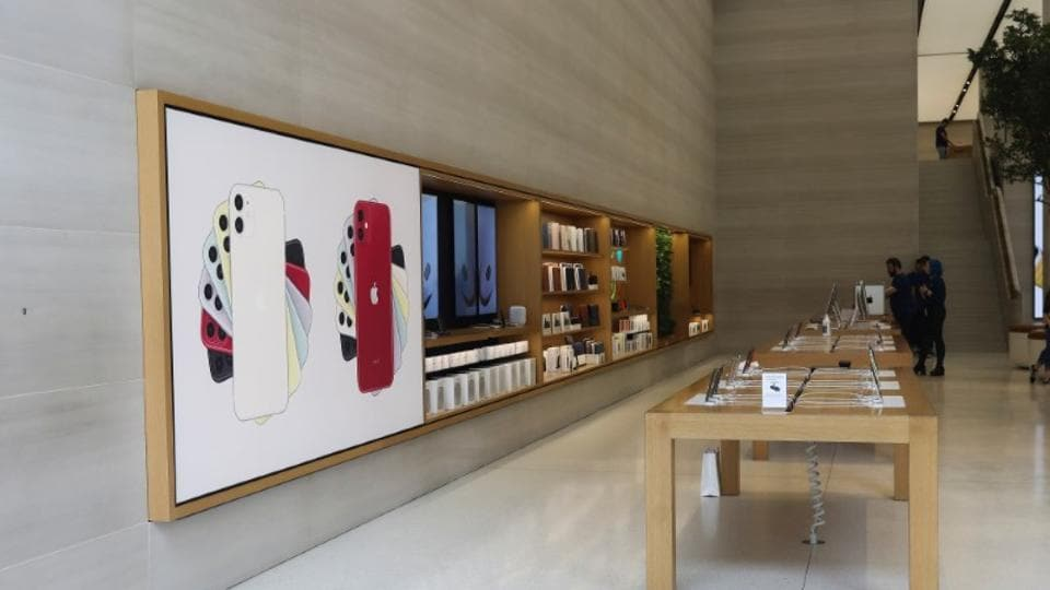 Apple had first closed all its 42 China stores but it reopened them. It then closed all retail stores outside Greater China.