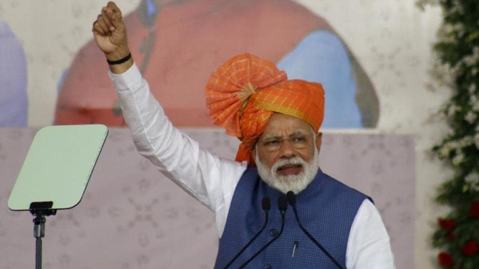 Prime Minister Narendra Modi called for putting humans at the centre of the global strategy.