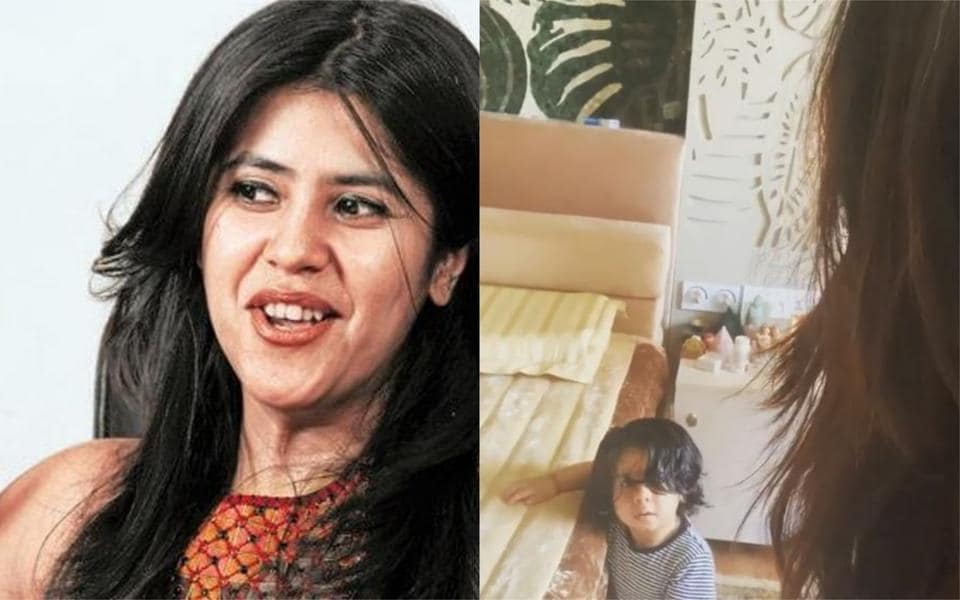 Ekta Kapoor dances with son Ravie during quarantine, Rhea Kapoor wants to share her playlist for 'the boss'. Watch