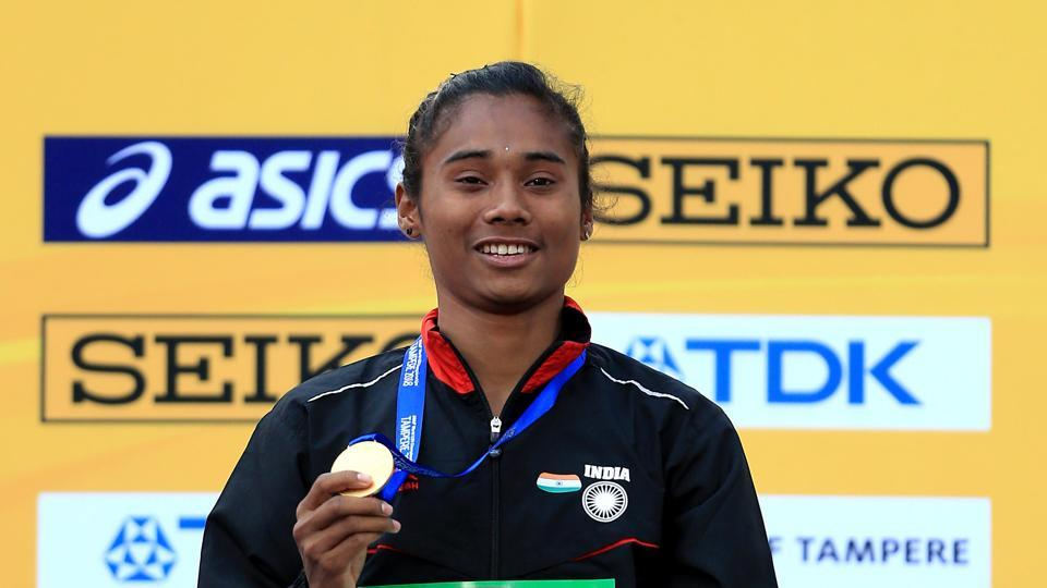 Hima Das pledges 1 month's salary to Assam's Covid-19 relief fund
