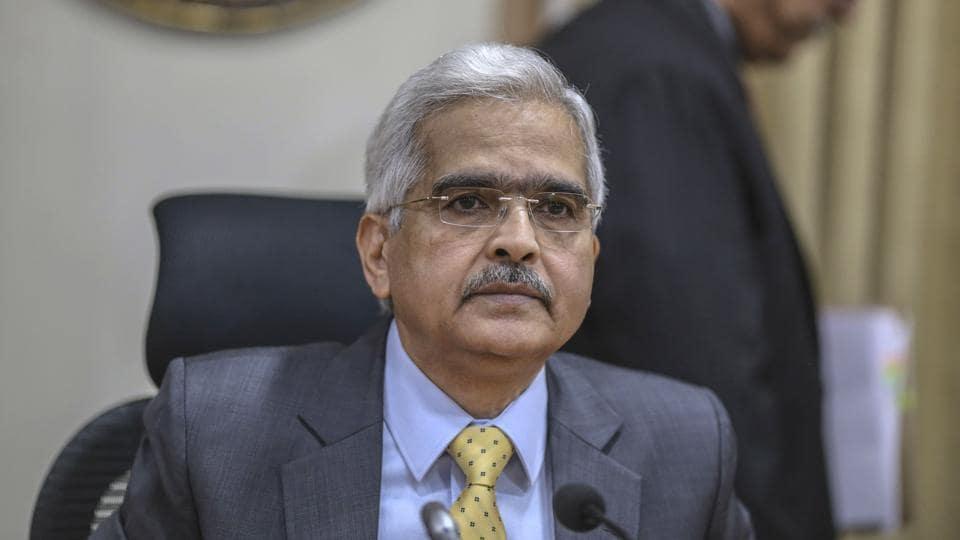 Shaktikanta Das, governor of the Reserve Bank of India.