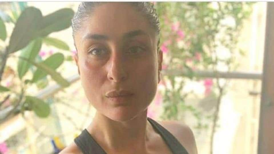 Kareena Kapoor shares post-workout selfie but not without her trademark pout