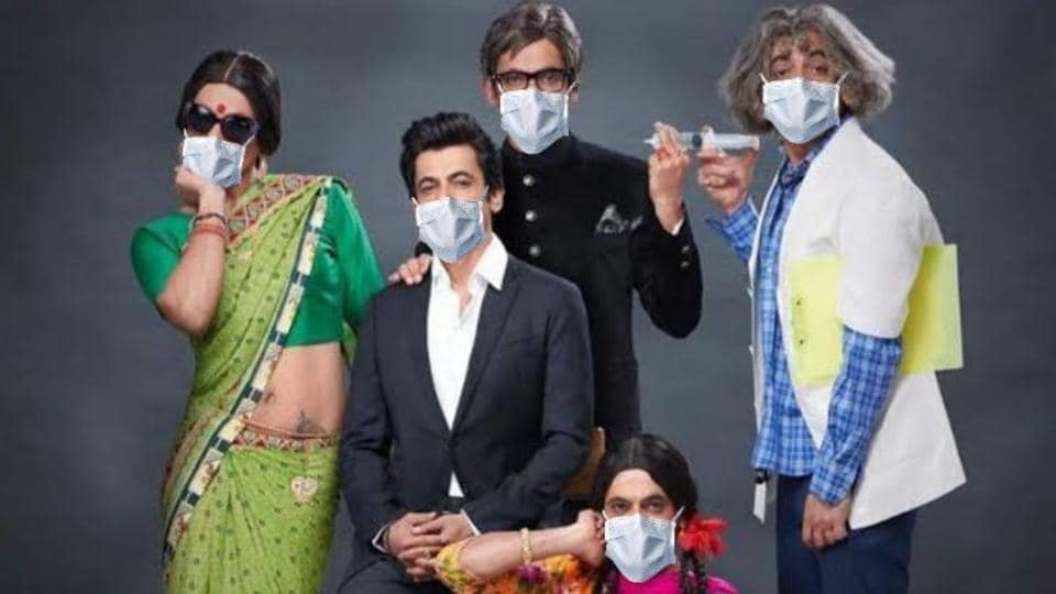 Gutthi meets Dr Mashoor Gulati: There's a reunion of Sunil Grover's various avatars during lockdown.... thumbnail