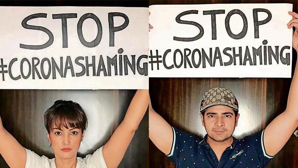 Karan Mehra :  Stop corona - shaming working class people  - tv