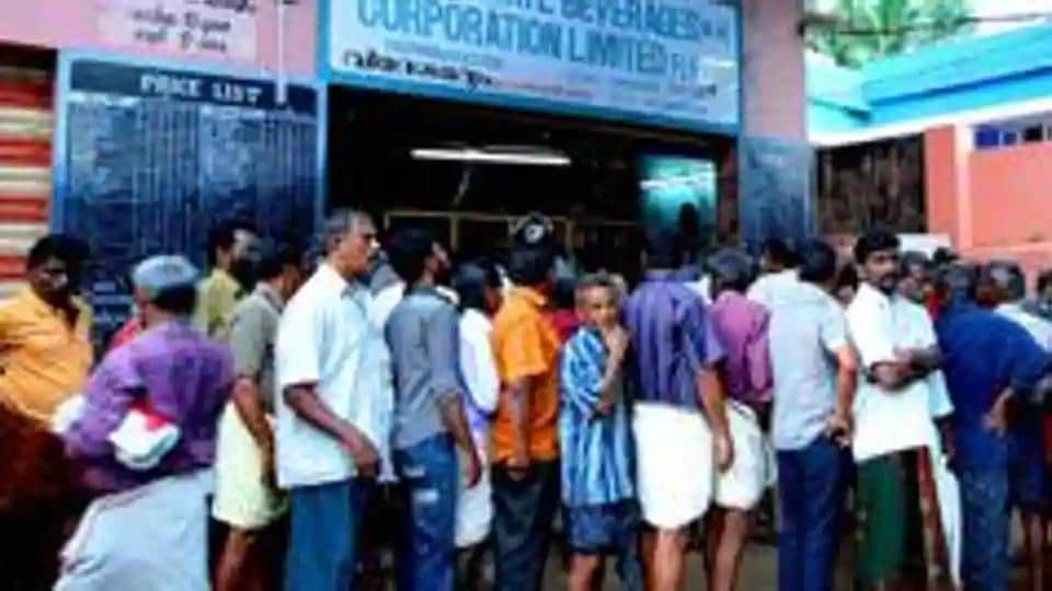 The liquor shops in Kerala were closed after criticism from opposition in the wake of the coronavirus pandemic.