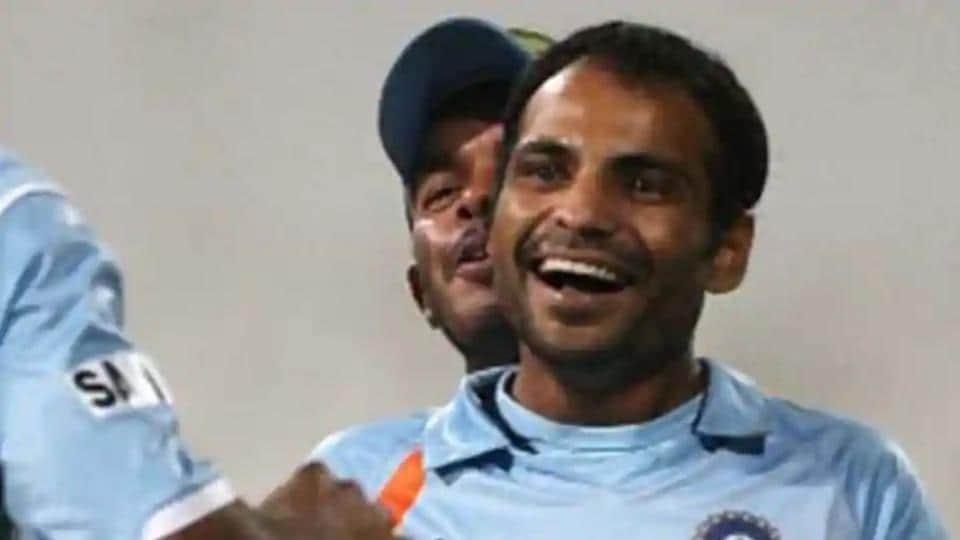 File phot of Indian cricketer Joginder Sharma.