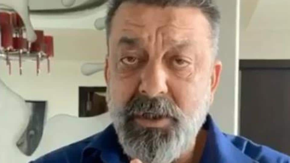 Sanjay Dutt urged everyone with folded hands to stay at home.