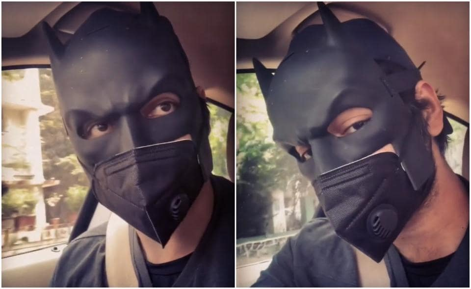 Ali Fazal turns Batman and helps 'people in desperate need for food', watch video