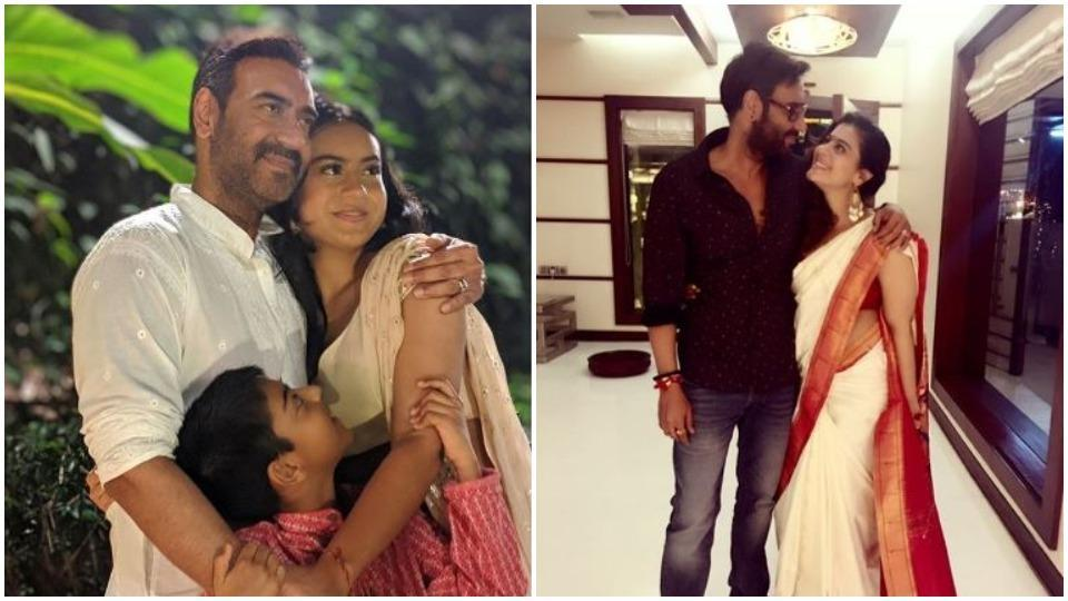 Celebrate Ajay Devgn's birthday with these pictures from his family album.