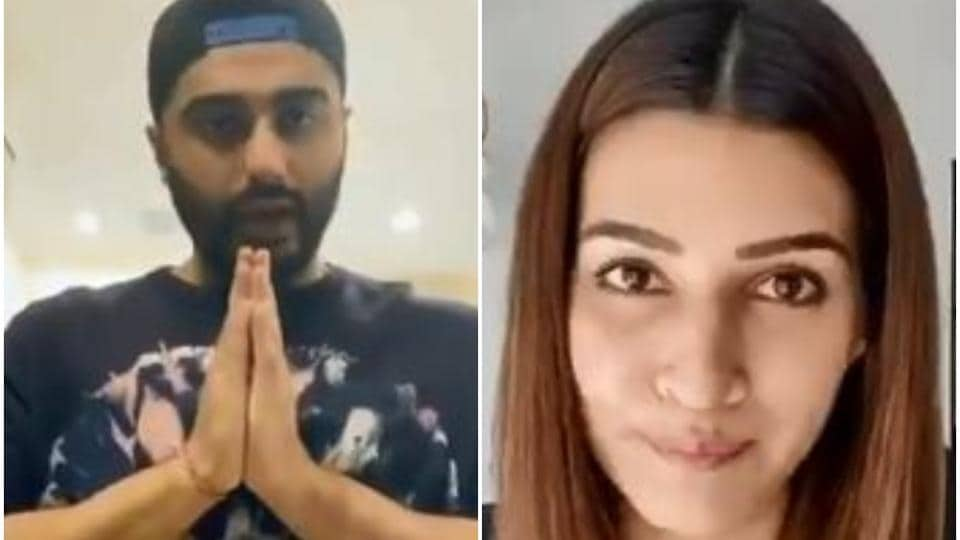 Arjun Kapoor, Kriti Sanon urge everyone to obey laws, stay at home. Watch video messages