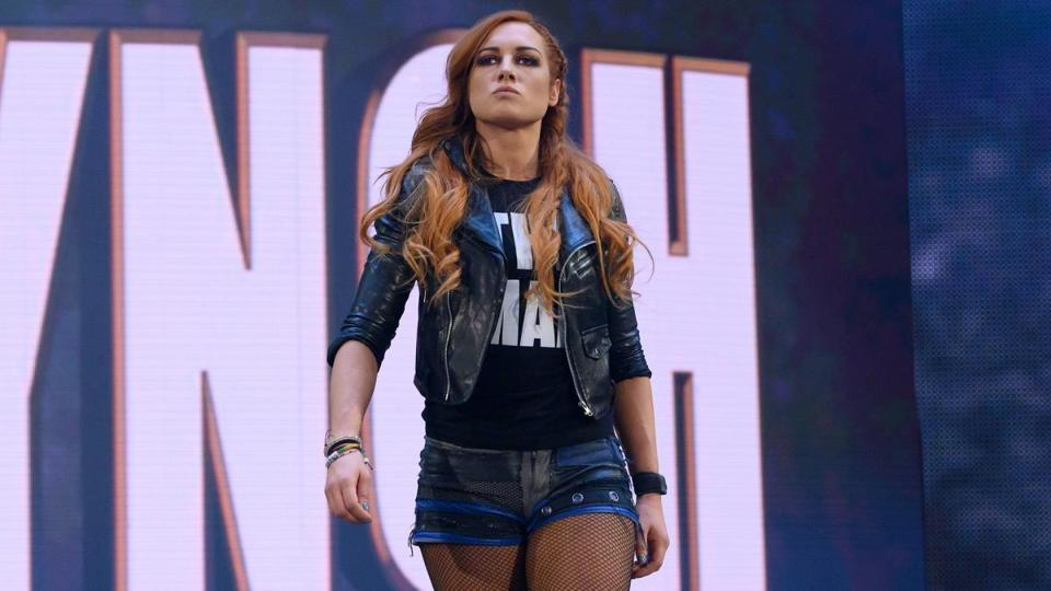 A file photo of Becky Lynch.