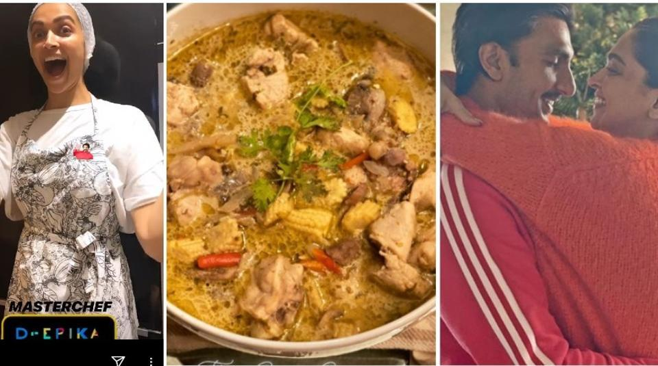 Deepika Padukone turns master chef, makes Thai green curry and rice for 'pati parmeshwar' Ranveer Singh. See pics – bollywood