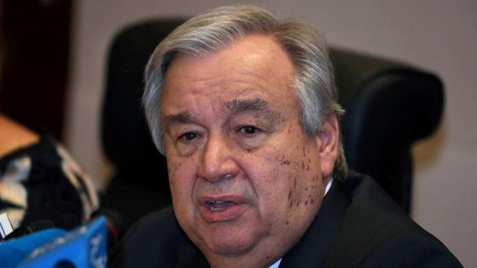 'Worst yet to come' for countries in conflict, says UN chief Antonio Guterres amid coronavirus crisis
