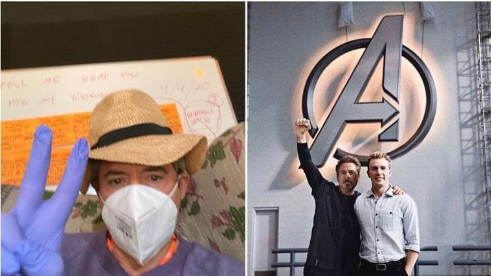 Robert Downey Jr got birthday wishes from Chris Evans and other Avengers stars.