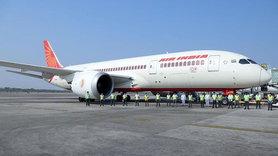 Air India received information from Goa and Bihar governments that passengers on their flight have tested positive for Covid-19.