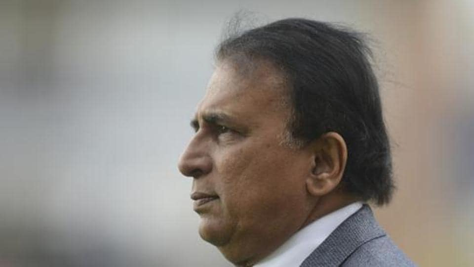 Former Indian cricketer and commentator Sunil Gavaskar