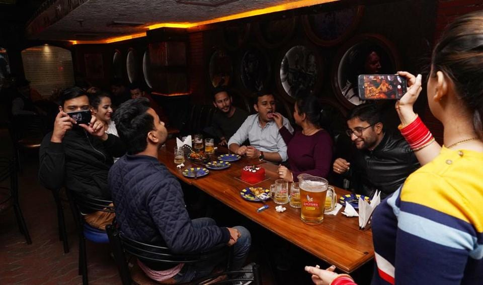 Will diners become more cautious about going out and dining with several others?