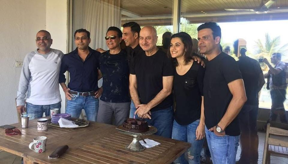 Taapsee Pannu shares pic with Akshay Kumar, Anupam Kher from Naam Shabana, says being centrestage was 'very intimidating' – bollywood