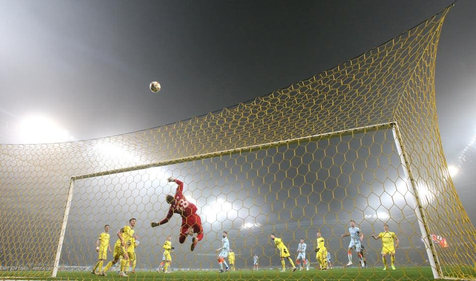 General view of match action