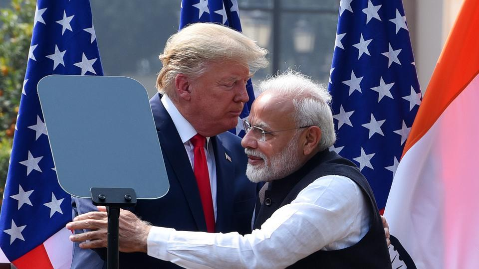President Tump had supported the Narendra Modi government's stand on hydroxychloroquine and praised India's handling of the Covid-19 pandemic.