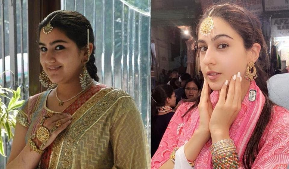 Sara Ali Khan once weighed more than 90 kgs.