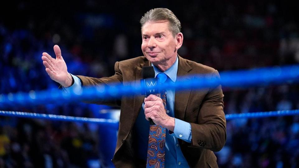WWE CEO and Chairman Vince McMahon.