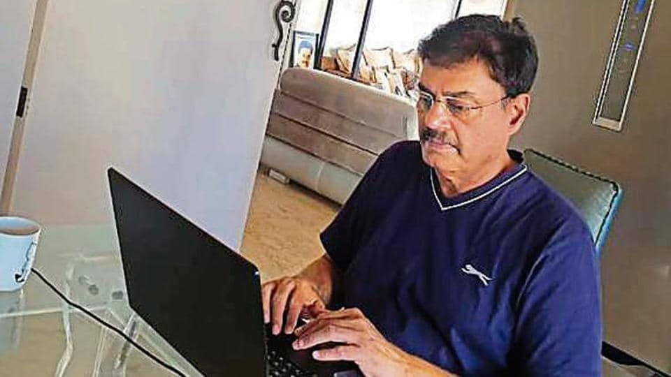 Dilip Vengsarkar uses time at home to write his memoirs