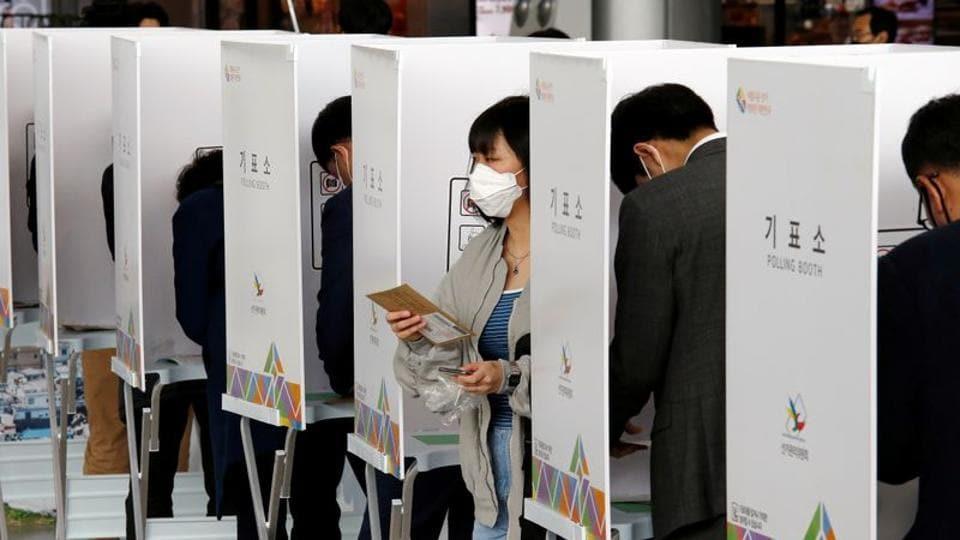 South Korea holds parliamentary polls amid Covid-19 pandemic