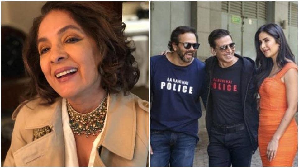 Neena Gupta was reportedly playing Akshay Kumar's mother in Sooryavanshi.