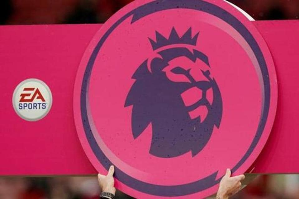 General view of the Premier League logo before the match REUTERS/Andrew Yates/Files