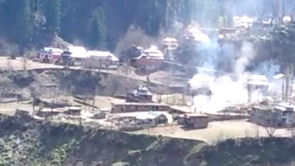 India Army had targeted Pakistani posts, terror launch pads and an ammo dump across the Line of Control in J&K's Keran sector on April 10