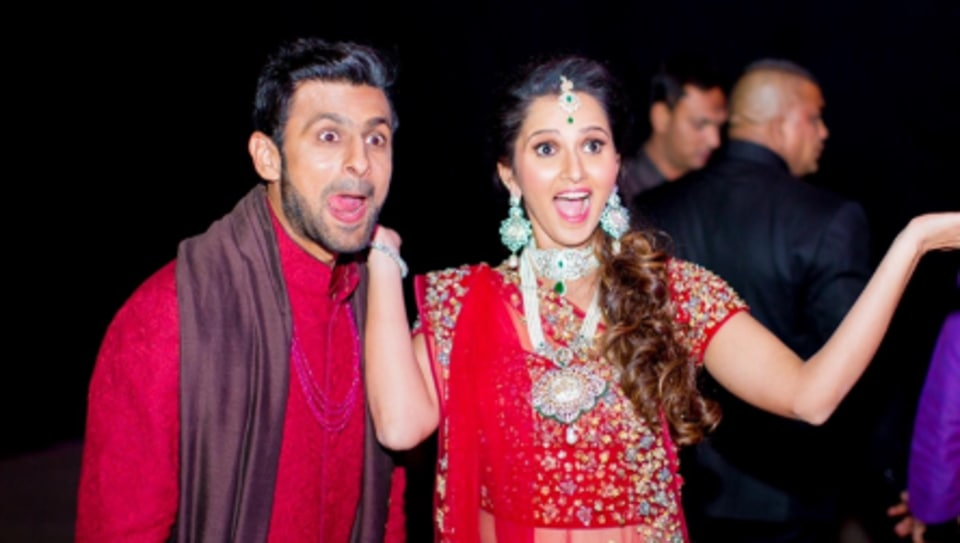 Sania Mirza with Shoaib Malik
