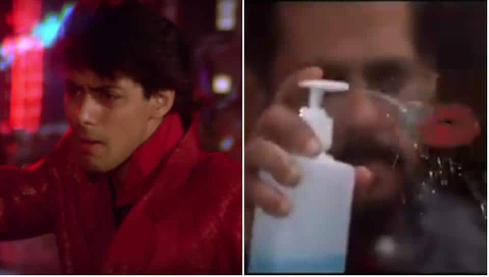 Salman Khan gave fans a glimpse of what Maine Pyaar Kiya would have been like, were it made today.