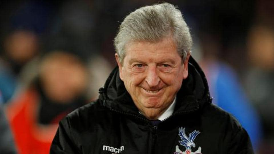 Crystal Palace manager Roy Hodgson before the match.