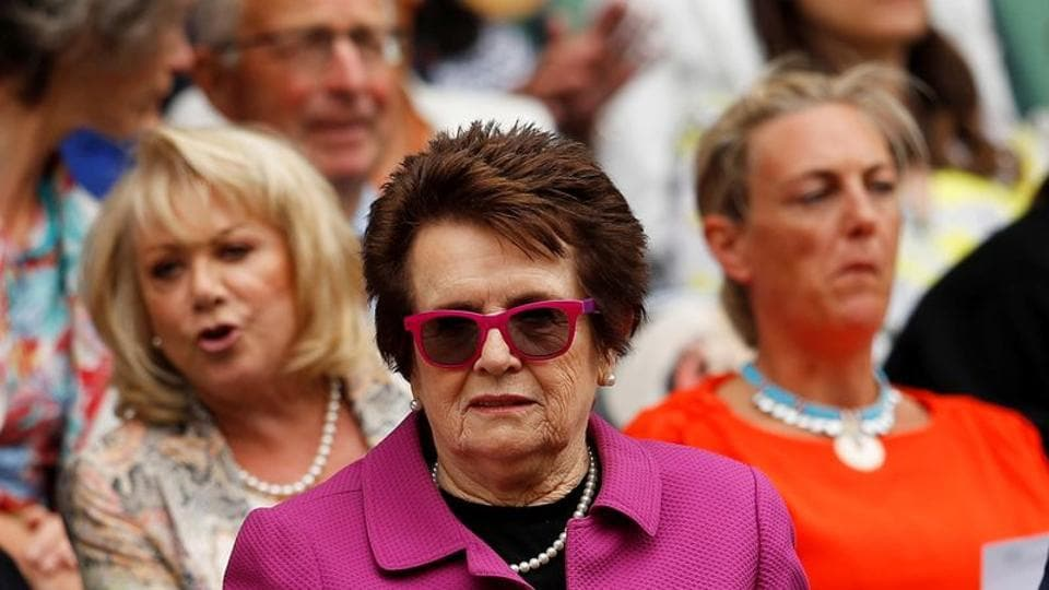File photo of Billie Jean King.