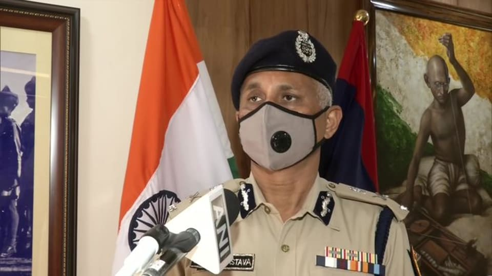 Delhi Police Commissioner SNShrivastava.