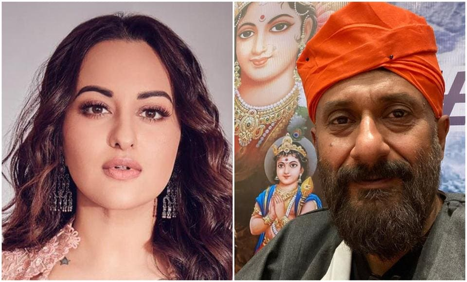 Sonakshi Sinha clarified that the picture of her stepping out of a studio is a throwback photo.