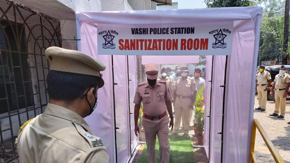 The Brihanmumbai Municipal Corporation's (BMC) insecticide department said they will not be installing disinfection tunnels in any of the containment zones in Mumbai. (HT photo)