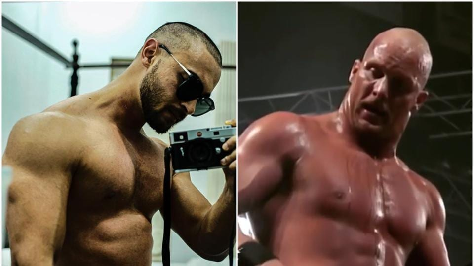 Varun Dhawan compared Aayush Sharma to WWE wrestler Stone Cold.