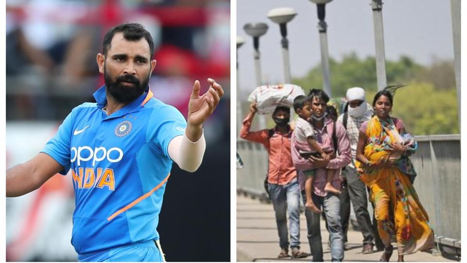 'He fainted in hunger,' Mohammed Shami trying his best to help migrant workers in home town thumbnail