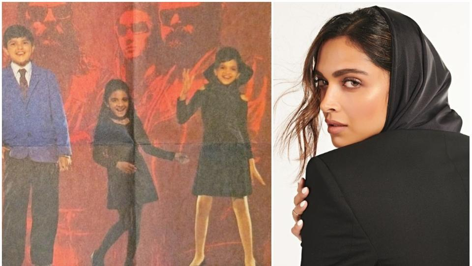 Deepika Padukone shared a throwback picture where she is dancing on the stage.